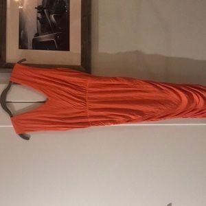 Alice and Olivia Melon Colored Dress